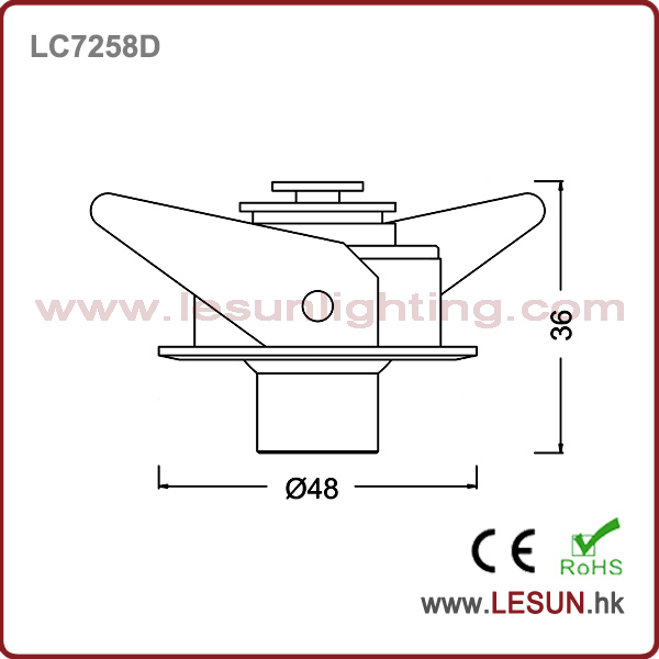 Ce and RoHS Approval 3W LED Under Cabinet Lamp Light