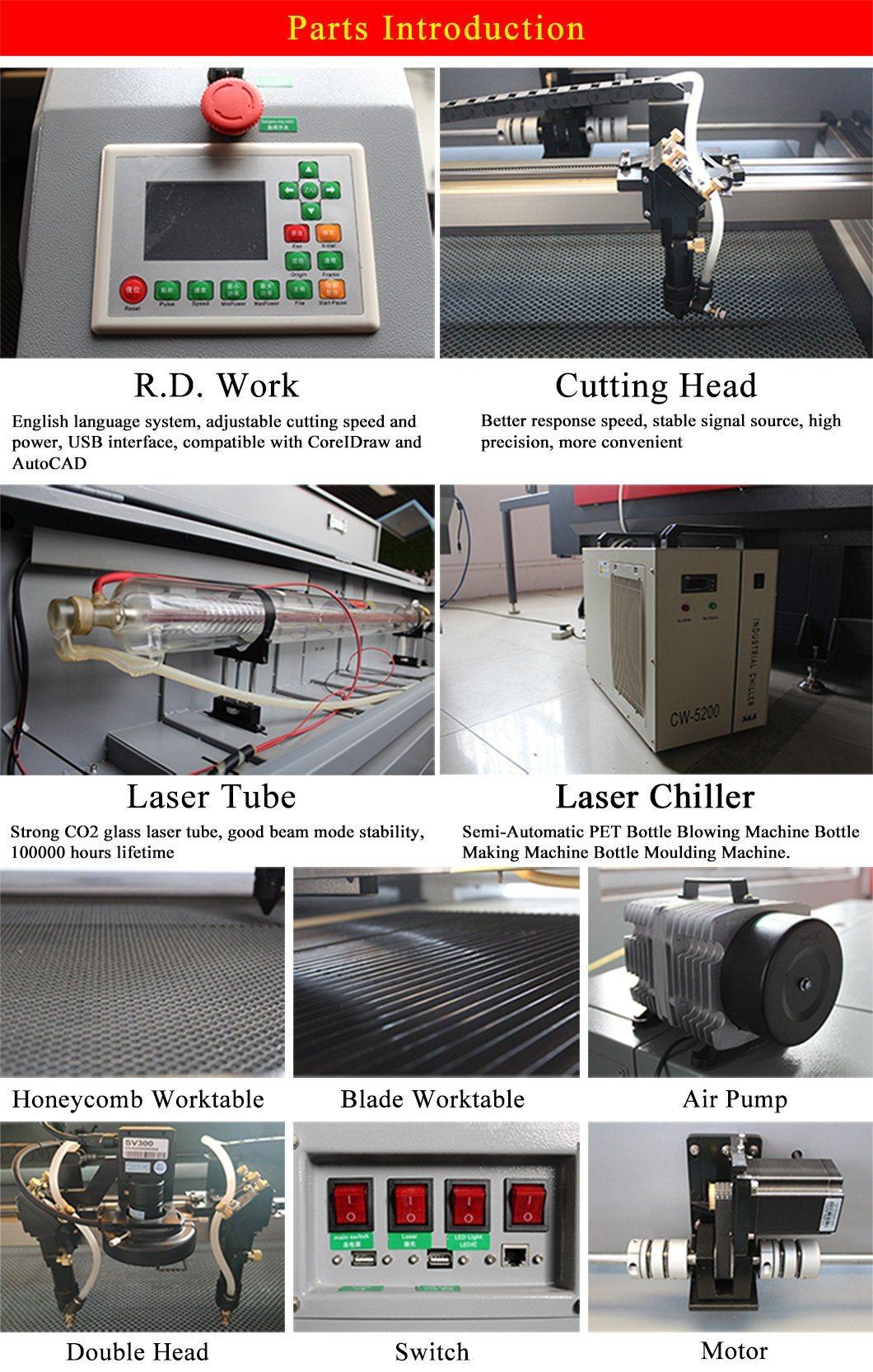 40W/50W/60W80W/100W Garment Laser Rock Cutting Machine