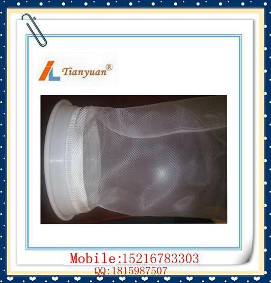 Nylon Mesh Filter Bag with Drawstring / Stainless Steel / Plastic