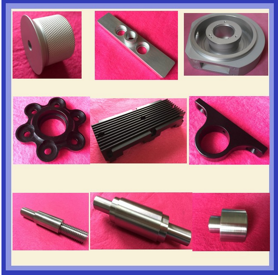 Hot-Sale 2015 Precision Al 6061t6 7075 Machining Sandblast and Anodizing CNC Machinery Parts / CNC Mechanical Parts
