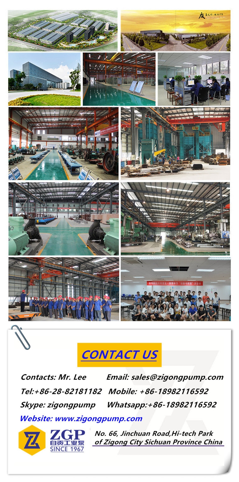 Vertical Long Shaft Axial Flow Pump for Sea Water