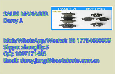 Auto Spare Car Parts Ceramic/Semi-Metal 0060 743 565 Brake Pad