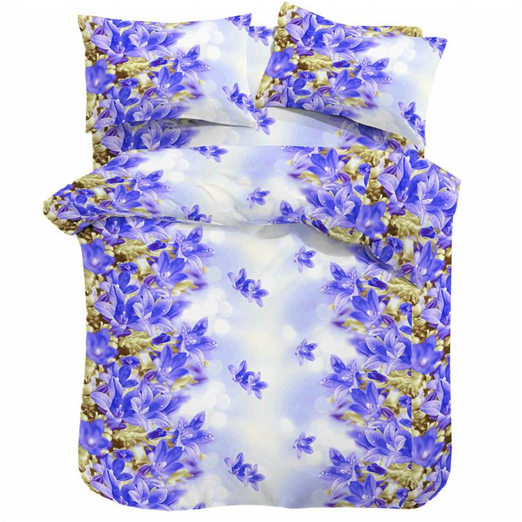 Wholesale Polyester Duvet Cover, Cheap Disperse Print Duvet Cover