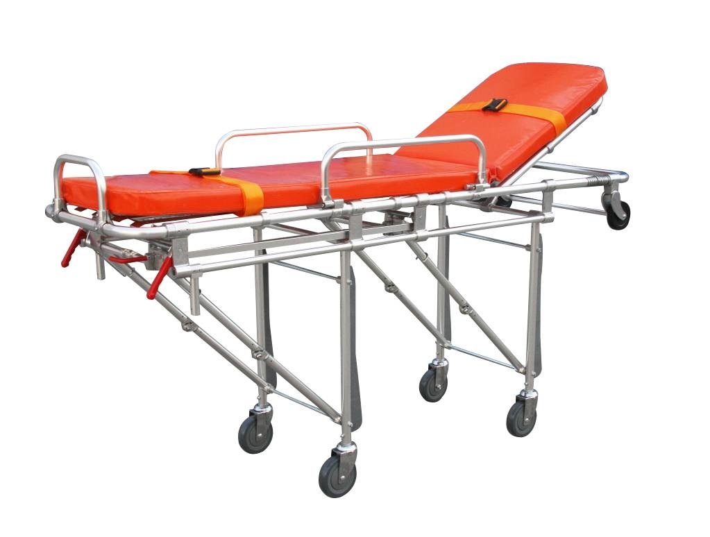 Auto Loading Aluminum Alloy Ambulance Stretcher (SLV-3G)
