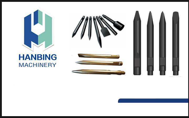 Herramientas hidráulicas de construcción / cinceles rompedores hidráulicos para piezas de repuesto de excavadoras