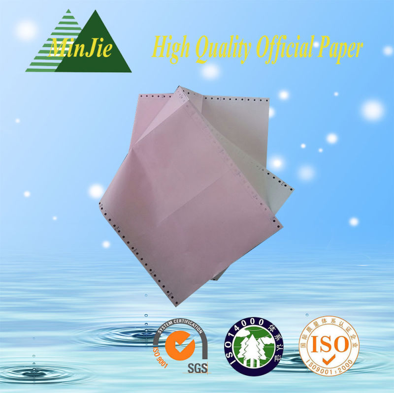Hot Sale 241mm*280mm Computer Printing NCR Paper in Low Price