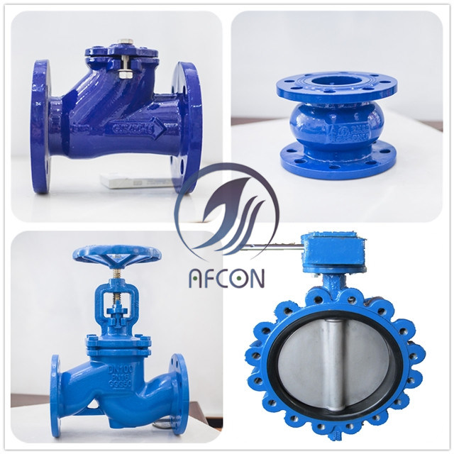 DIN 2501 Flanged Silent Check Valve for Water Pump System
