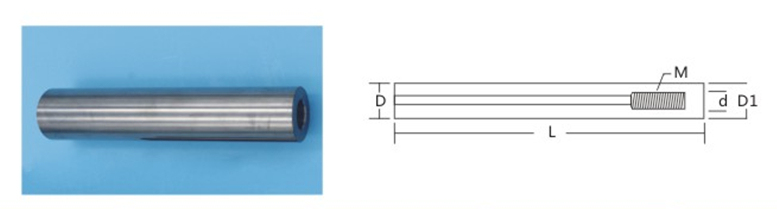 Internal Screwed Carbide Rod with Cooling Hole for Cutting Tool