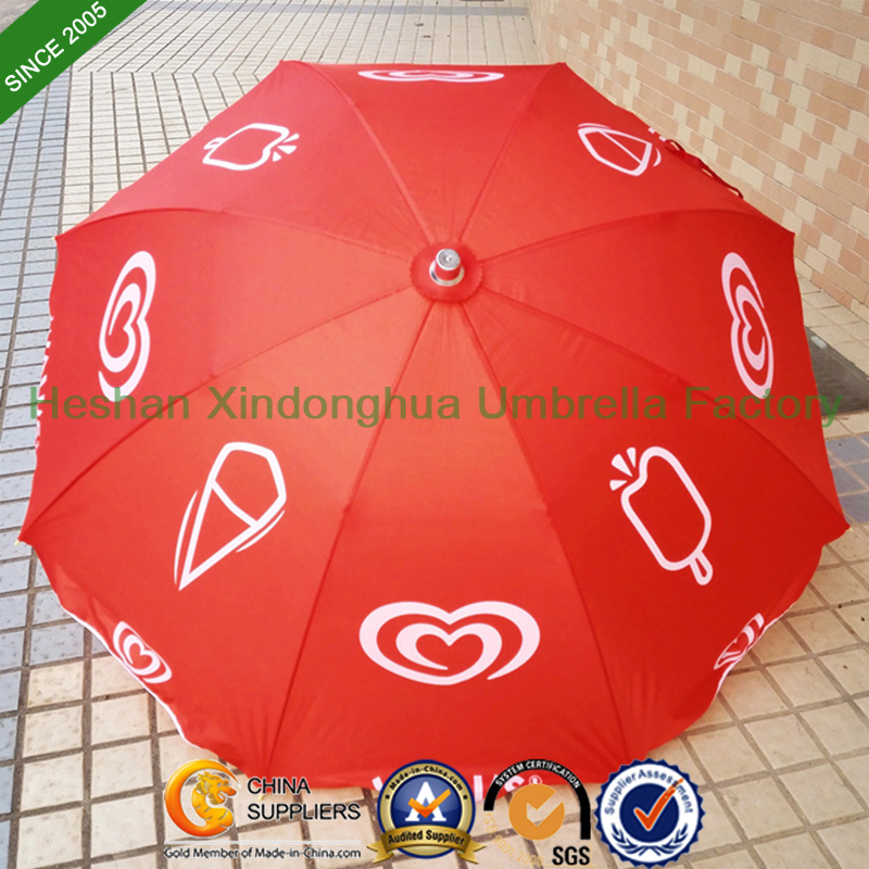 40 Inch Outdoor Sun Beach Umbrella Parasol with Tilt (BU-0040T)