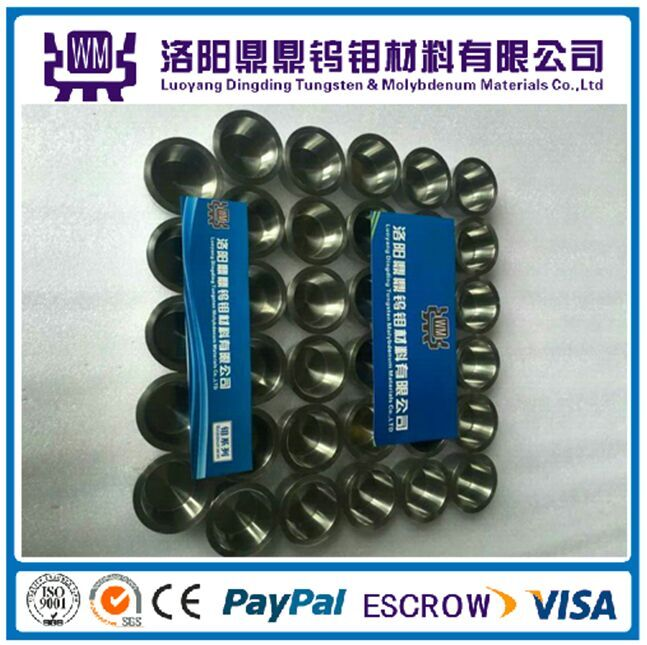 China Manufacture 99.95% Tungsten Crucible, Best Price Tungsten Crucibles/Molybdenum Crucibles for Sapphire Single Crystal Growth Furnace