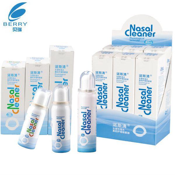 Cheap Babies 0.9%Nacl Seawater Nasal Spray Factory