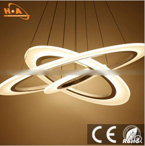 Modern Decorative Acrylic Pendant Lamp for Restaurant / Bar / Hotel
