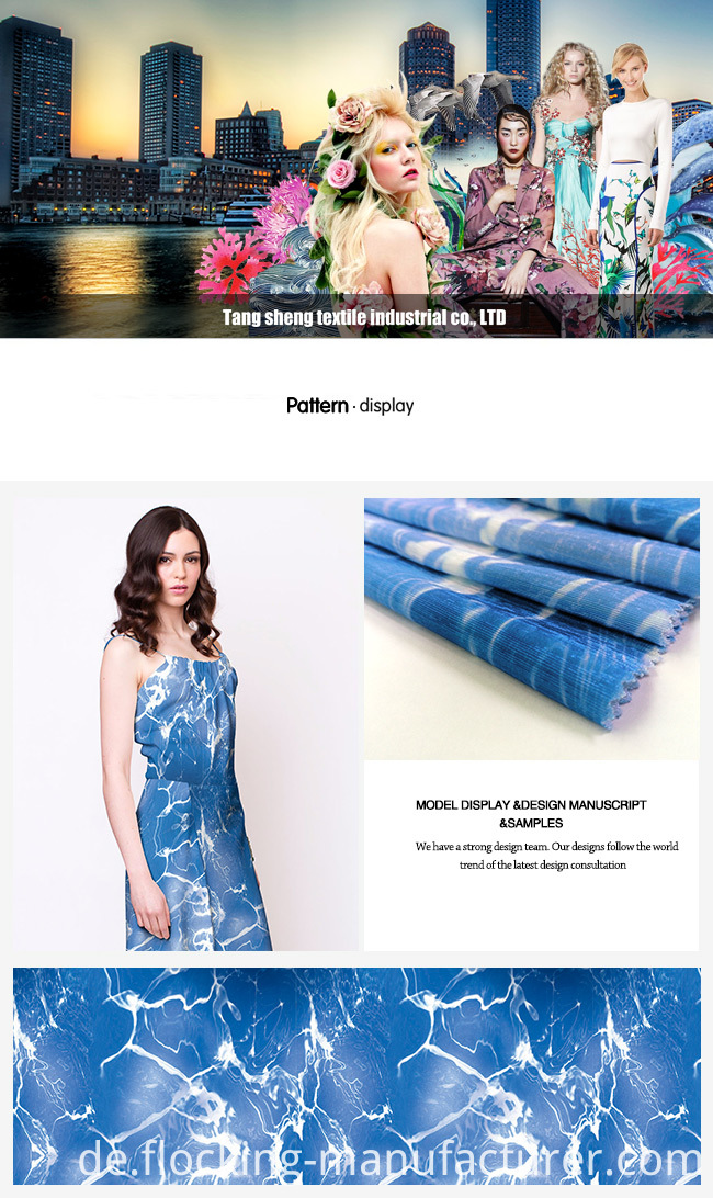 Digital Printing Polyester Fabric for Dress/ Top/ Skirt