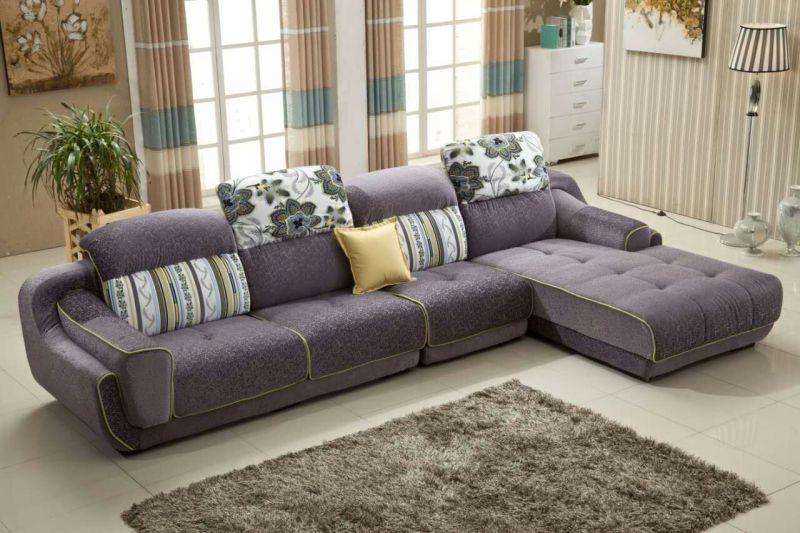 Warm Feeling High Quality Fabric Sofa 2192A