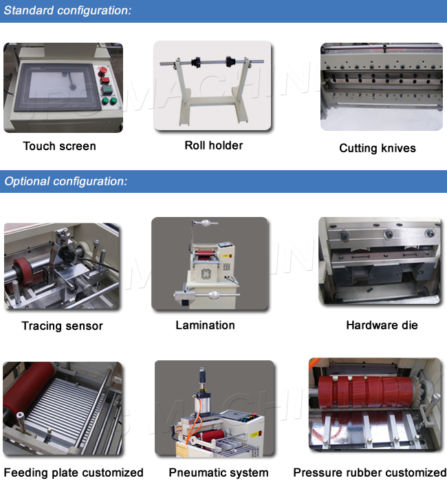 Metal Foil, Nickel Foil and Aluminum Foil Cutting Machine