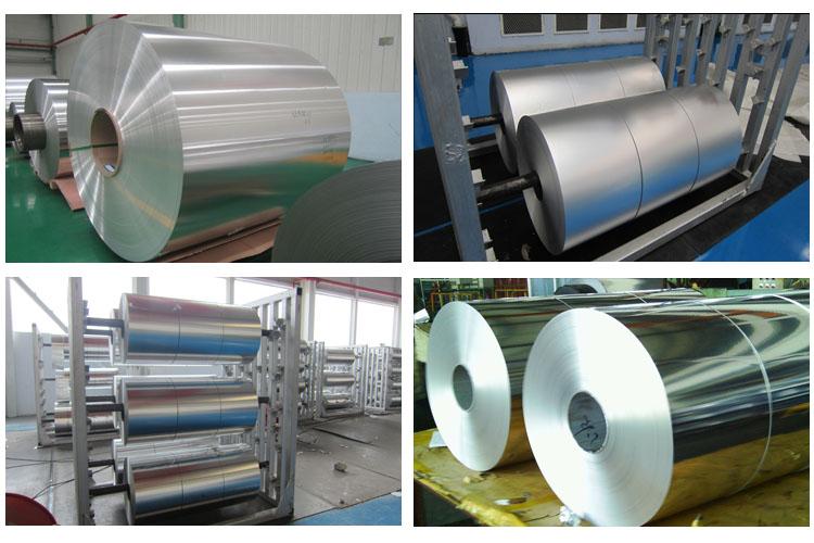 8011 aluminium foil for self adhesive aluminum foil tape