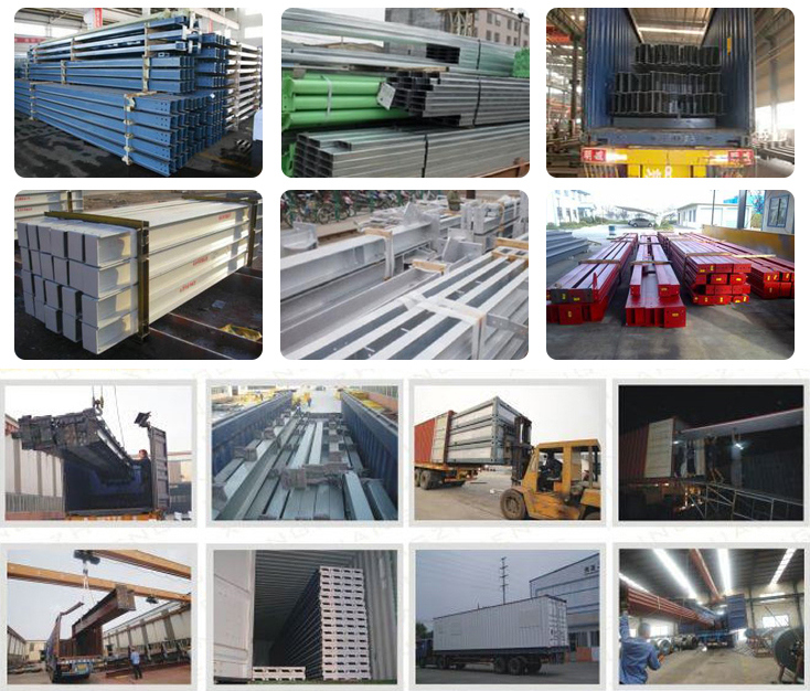 Standard Modular Space Truss Prefab Fabrication Steel Structure Workshop Warehouse