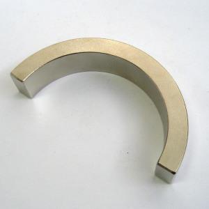 Sintered Permanent Neodymium Arc Strong Magnet (UNI-Arc-io1)