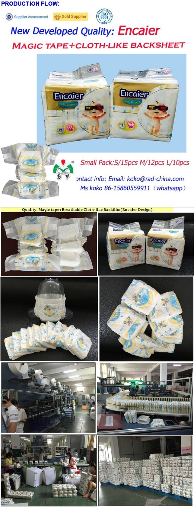 Best Seller Baby Printed Nappy Waterproof Encaier Cloth Baby Nappy