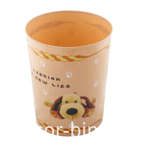 Fashion Puppy Dog Living Room Waste Bin (FF5228)