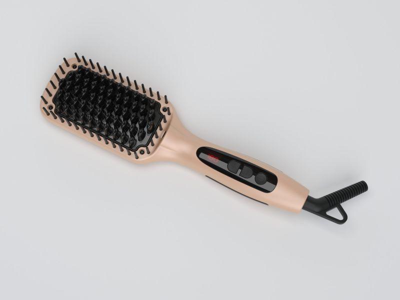 Smart Electronic Brush Straightening Brush with Negative Ion