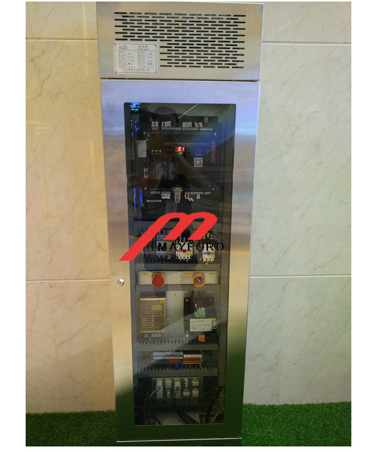 Glass Car Wall Panoramic Elevator with Stainless Steel