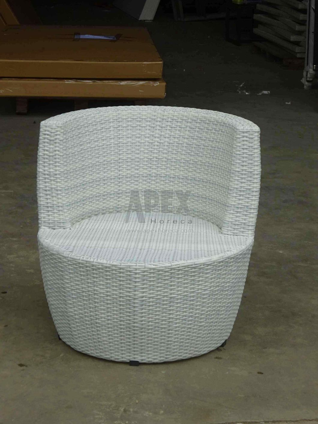 Wicker Sofa Set Outdoor Furniture Rattan Balcony Furniture Lounge Sofa