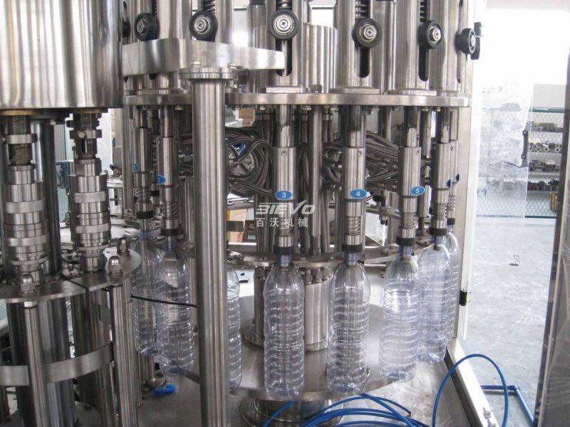 3-in-1 Monoblock Juice Beverage Drink Pet Bottle Filling Equipment
