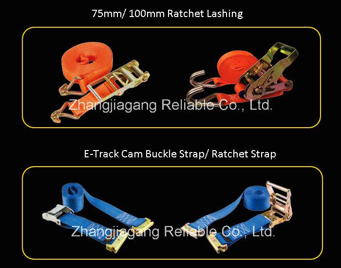 Custom Quick Release Ratchet Cargo Trailer Belts