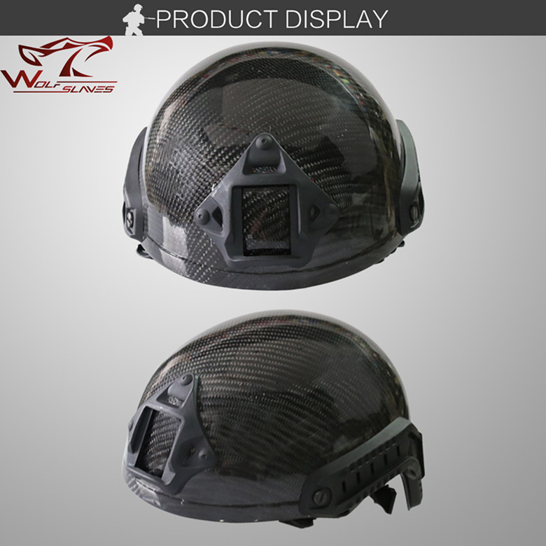 Carbon Fiber Military Equipment CS Tactical Combat Helmet Military Protective Helmet