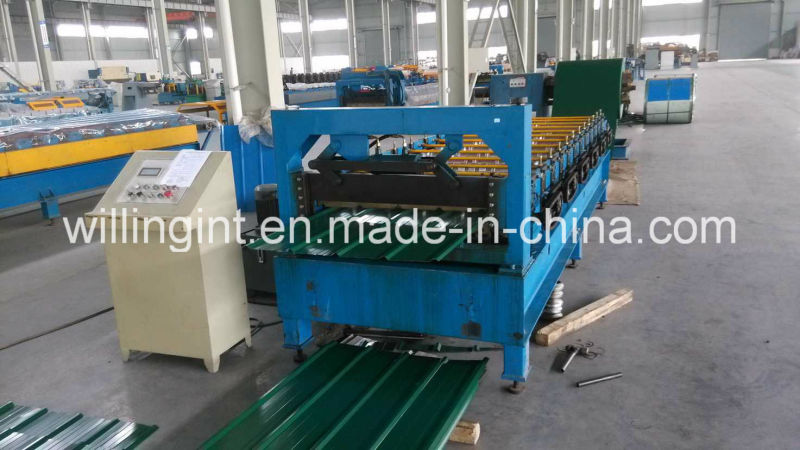 Galvanized Steel Roof and Wall Roll Forming Machine