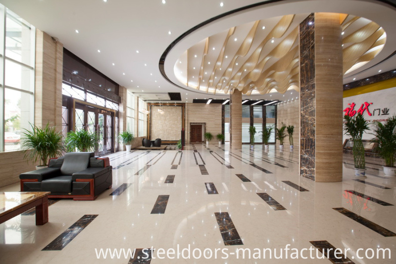 China Steel Door Supplier Entrance Door Metal Door Iron Door (FD-1215)