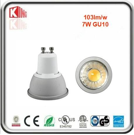 ETL Energy Star 5W 7W Dimmable GU10 LED Spotlight