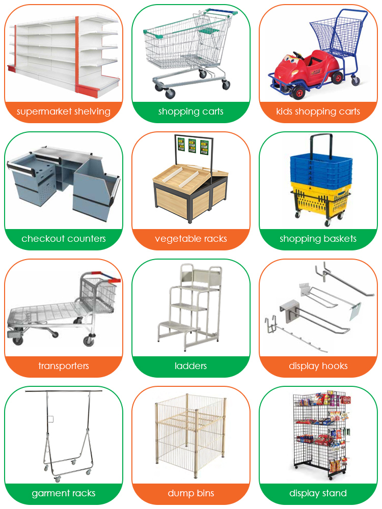 One Stop Shop Store Solution Supermarket Equipment