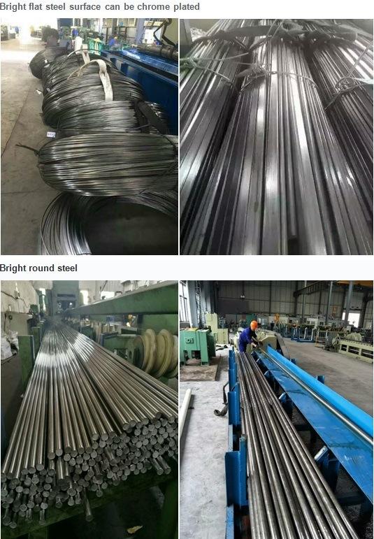 Alloy Steel Bar Round Bar Hexagon Bar Flat Steel Customize Steel According to User Requirements ASTM4140 GB42crmo ASTM4135 GB35crmo Cold Drawn Steel Bar