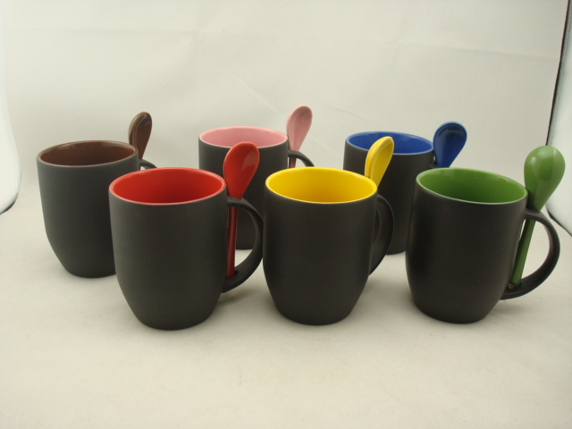 Color Change Mug with Spoon