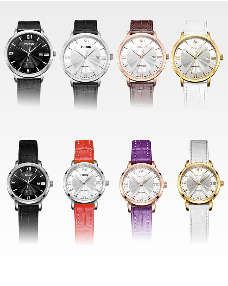 Leather Strap Lady Quartz Watch Wholesale China