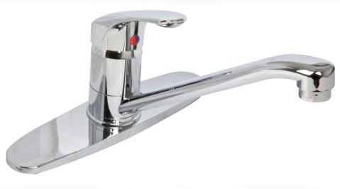 Single Handle Plastic Sink Faucet