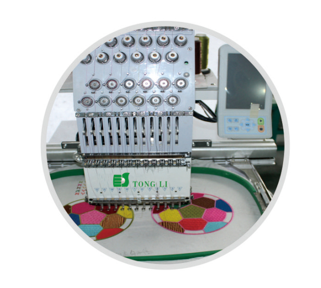 High Speed 4 Heads Tubular Cap Embroidery Machine