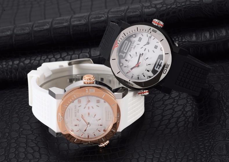 Men Digital Quartz Brand Watch Pocket, Waterproof Stainless Steel Sports Wristwatches Large Dial Luxury Automatic