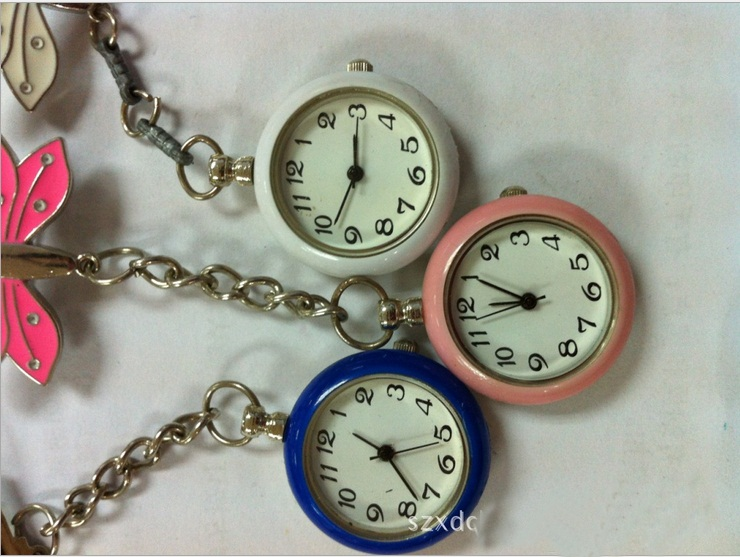 Water Resistant Alloy Material Medical Gift Nurse Fob Watch
