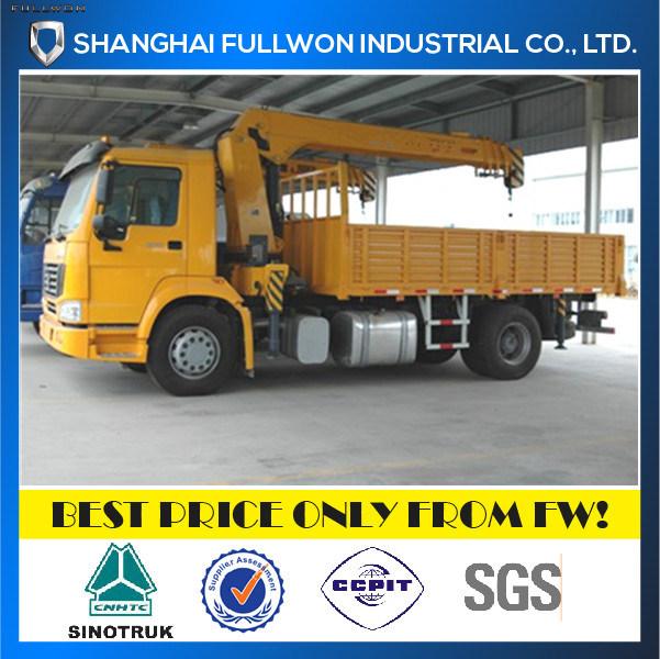 Sinotruk 4X2 Crane 3 Ton Boom Truck
