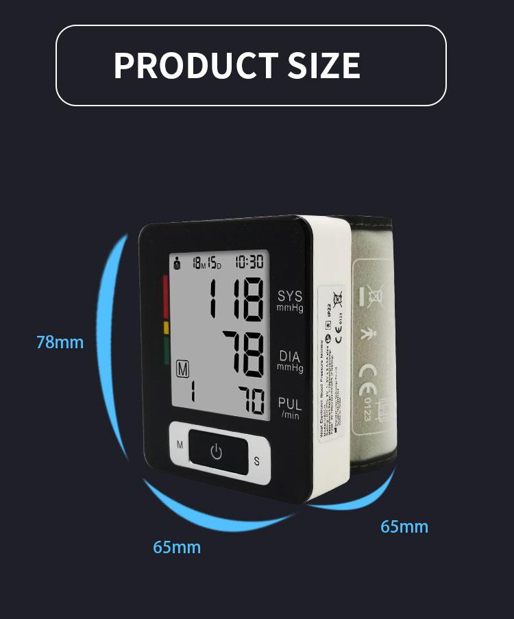 electric digital blood pressure monitor