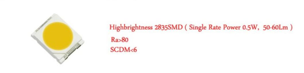 Hot Sale Gx53 7W 520lm 30PCS LED Dimmable Aluminum LED Light Lamp