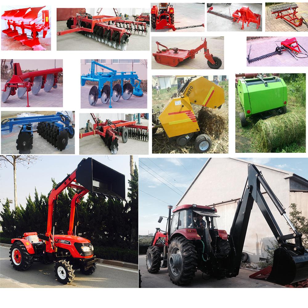 China Taihong 90HP Farm Tractors with Cabin