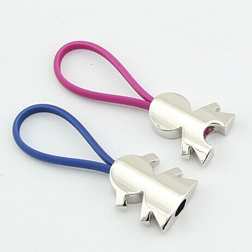 Fashion Design Boy and Girl Fancy Keychain for Lovers (F1202)