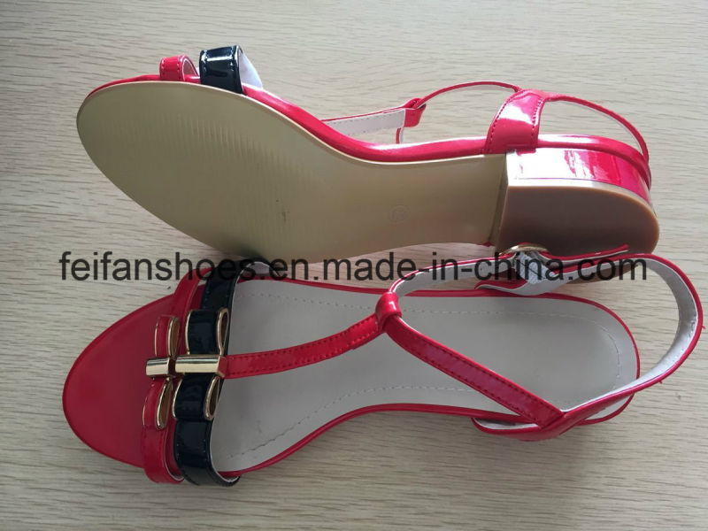2-3cm High Heel Shoes with Beauty Colors, Female Outdoor Summer Sandals