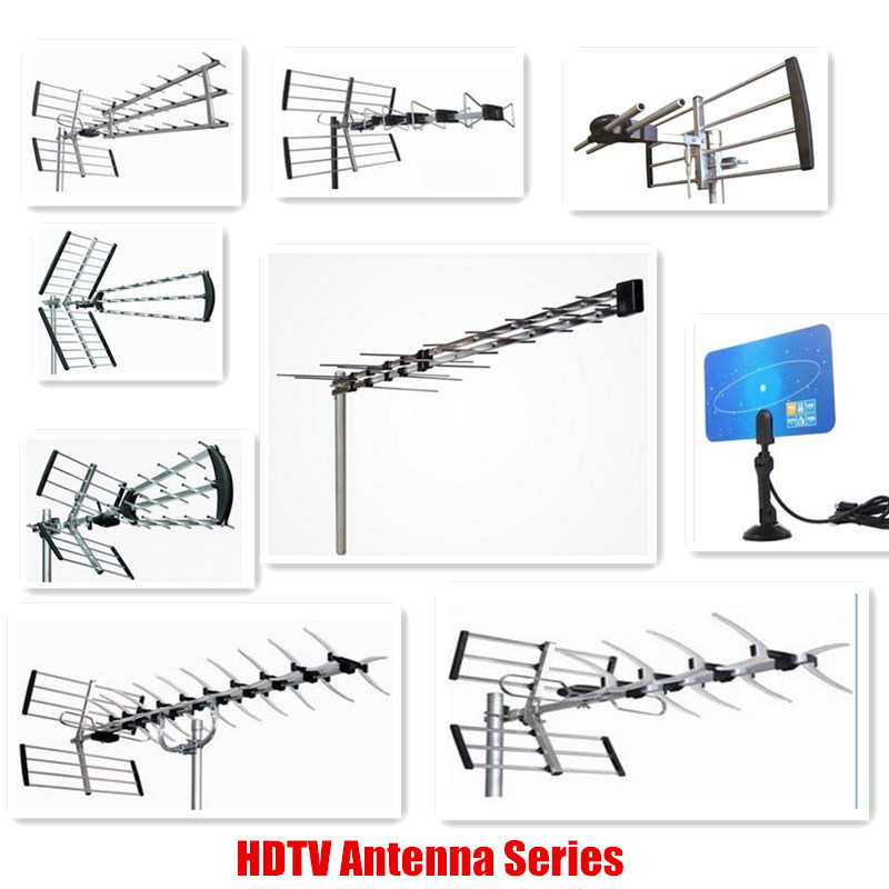 Yagi HDTV UHF 470-862MHz Antenna with Cable