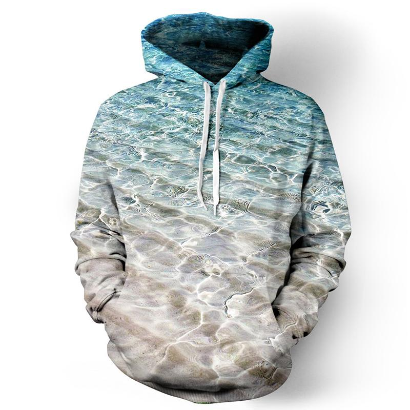 Winter 3D Sublimated Plain Pullover Hoodie