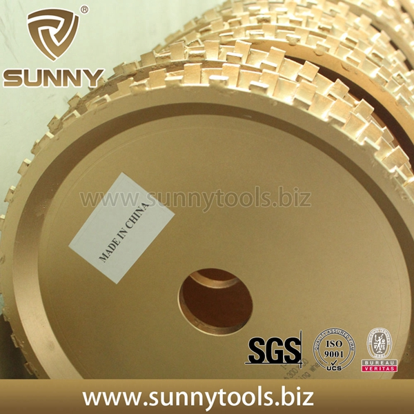 Diamond Profilling Wheel with Silent Nylon Core